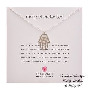 NWT - DOGEARED Silver Magical Protection Necklace